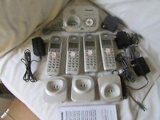 Panasonic KX-TGA6324 cordless, 4 handsets, expandable phone system