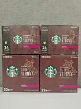 112 Count Keurig K-Cups Starbucks Caffe Verona Dark Roast Coffee