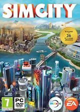 Computer PC Game Sim City SimCity 5 English DVD Shipping NEW