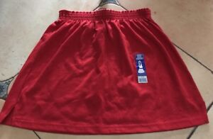 Soffe Skirt/Coverup Red 50% Poly 50% Cotton Size Medium New W/ Tags (F)