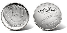 2014 S National Baseball Hall of Fame HOF PROOF Clad Half Dollar w/Box & COA