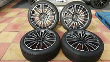 "GENUINE RANGE ROVER VELAR 22"" STYLE 9007 DIAMOND TURNED ALLOY WHEELS AND TYRES"