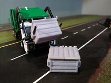 1/64 3d printed dumpster, sized to fit Greenlight Mack refuse truck