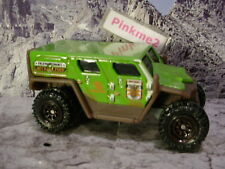 2017 RUGGED VEHICLES Design GHE-O RESCUE☆green;brown;brown ringed☆Matchbox loose