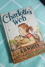 Charlotte's Web By E.B. White 1952 Hardcover Book