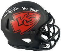 Frank Clark autographed signed inscribed Eclipse mini helmet KC Chiefs Beckett