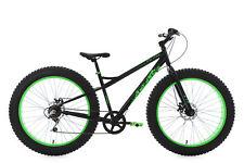 """Mountainbike Hardtail 26"""" Fatbike SNW2458 MTB Schwarz-Grün 6 Gänge 226M"""