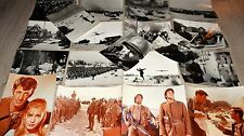 belmondo WEEK-END A ZUYDCOOTE  rare les 19 photos presse argentique cinema 1964