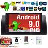 """9""""Autoradio GPS Android 9.0 Bluetooth For BMW 5er E39 E53 X5 4G DAB+ WiFi CanBus"""
