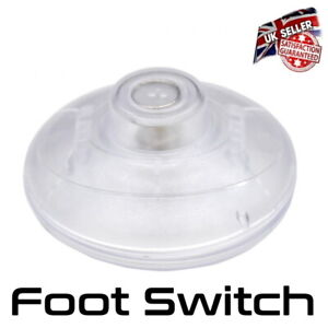Floor Lamp Switch - Foot Switch For Lamp Or Light - Clear *UK Seller*