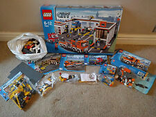 LEGO CITY GARAGE 7642 7631 DUMP TRUCK 7638 BREAKDOWN TRUCK 5620 ROAD SWEEPER