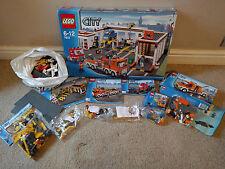 LEGO CITY GARAGE 7642 7631 DUMP TRUCK 7638 BREAKDOWN TRUCK 5620 ROAD SWEEPER