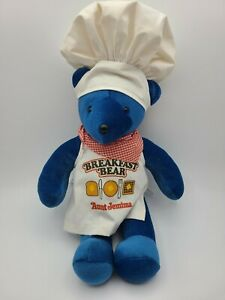 1984 North American Bear Company Aunt J Breakfast Bear plush FREE SHIPPING