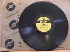 """MGM 10"""" 78/David Rose/Orpheus Takes A Holiday/Dreams Do Come True/VG+/E!!!"""