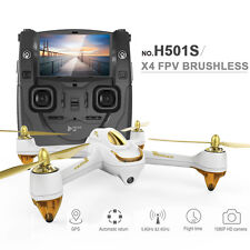 NEW Hubsan H501S 5.8G GPS FPV RC DRONE 1080P HD Cam 4.3Inch Screen White version