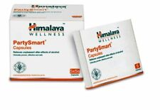 Herbal Party Smart Prevents Hangover Nausea Headache 25 Capsules Alcohol Effects