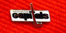 Washington Capitals Logo Lapel Pin 1980s vintage National Hockey League gmu1