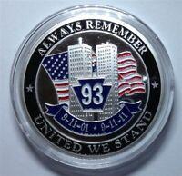 "1 Troy oz .999 Fine Silver Bullion Round, ""Always Remember 9/11"" Round. 911"