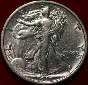 1917 Philadelphia Mint Silver Walking Liberty Half