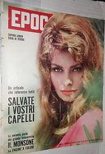 EPOCA 8 Ottobre 1961 Sophia Loren Berlino Katanga Giuseppe Navarra Borgnine di