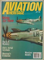 Aviation History (Jul 1991) (Reims Air Show 1909, L-8, Zlin, P-51 Mustang)
