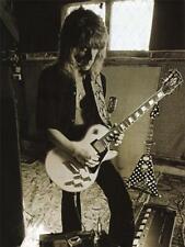 Randy Rhoads -LARGE POSTER- Ozzy Osborne Gibson Les Paul guitar master ECHOPLEX