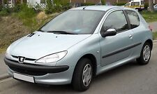 PEUGEOT 206 98-07 DRIVER SIDE O/S WING PRE-PAINTED TO ANY STANDARD SHADE