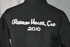 Warren Miller Cup 2010 Light Weight Black Jacket Coat Size Medium RARE FIND