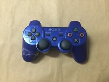 Sony Playstation 3 PS3 Wireless Dualshock Blue Controller - (BV14648)