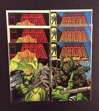 SAVAGE DRAGON #1 & 2 Comic Books With TEENAGE MUTANT NINJA TURTLES Larson NM