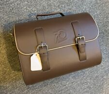VESPA 70th Anniversary Leather Cargo Case Brown NEW