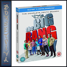 THE BIG BANG THEORY - COMPLETE SEASON 10 - TENTH SEASON **BRAND NEW BLU-RAY***