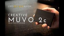 Altavoz bluetooth resistente agua Creative MUVO 2C Negro Ultra Portatil