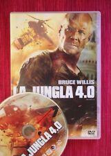 LA JUNGLA 4.0 (DIE HARD 4.0., 2007 DVD. Bruce Willis). ESPAÑOL & ENGLISH, ZONA 2