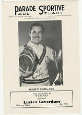 ROGER DURIVAGE 40s 50s PARADE SPORTIVE PAUL STUART NICE LOOK 8224