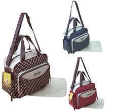 2 tlg Wickeltasche Pflegetasche Windeltasche Babytasche 2140 Farbauswahl