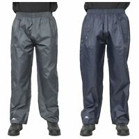Trespass Mens Womens Waterproof Trousers Packaway Breathable Qikpac