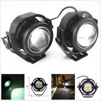 1 PAIR CREE U2 10W High Power Fog Driving DRL LED Light Bulb Lamp Bright White