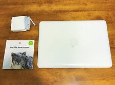"Apple MacBook White 13"" A1342 (Mid-2010) 250GB HDD 2.4 GHz 4GB RAM OS X Sierra"