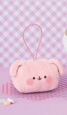 NEW FuRyu Funi Funi Marshmallow Pink Dog Plush Charm 8cm AMU-PRZ8598 US Seller