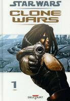 STAR WARS - CLONE WARS - TOME 1 - LA DEFENSE - VF - BD - DELCOURT - R 5392