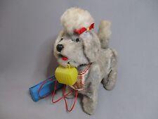 AF427 YONE BATTERY TOY CANICHE DOG ANCIEN CHIEN MECANIQUE JAPAN