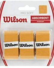 WILSON PRO SOFT OVERGRIP PER RACCHETTA TENNIS CONF. DA 3 COLORE GOLD