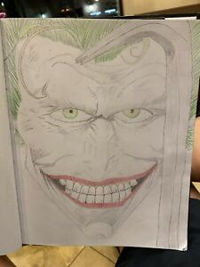 The Joker Original Drawing Art by Cherrymiah ⭐Jeremiah Reitz⭐