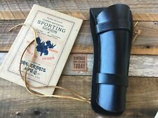 "Brauer Brothers Leather Revolver Holster M30 For Ruger Blackhawk 7 1/2"" Revolver"