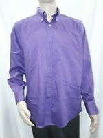 Men's 16-16 1/2 34/35 Purple IZOD Dress Shirt