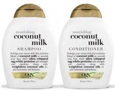 OGX Nourishing COCONUT MILK Shampoo And Conditioner (385ml )