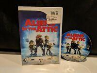 Aliens in the Attic Nintendo Wii 2009 No Manual