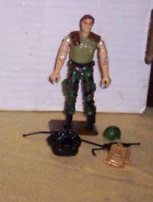 Vintage 1997 GI Joe Breaker Figure with Original Accessories, Excellent shape!
