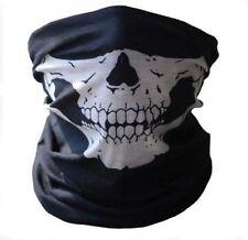 Half Face Bandana Skeleton Ghost Skull Face Mask Biker Halloween Props Balaclava